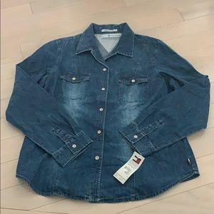 Tommy Hilfiger Jean Shirt Size 14